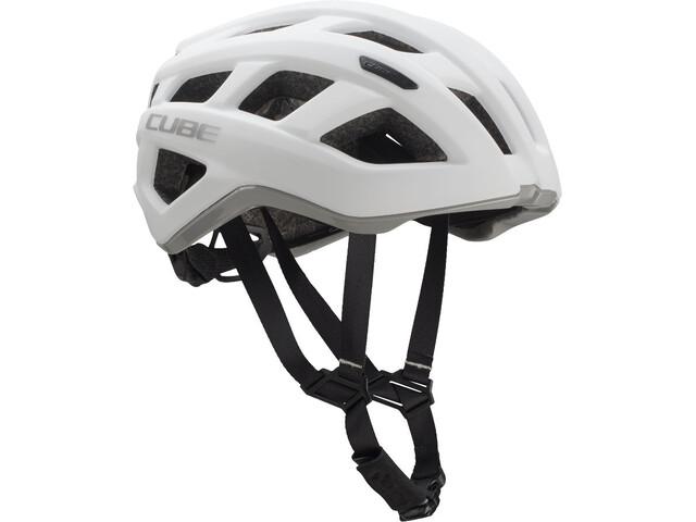 Cube Roadrace Cykelhjelm grå/hvid (2019) | Helmets